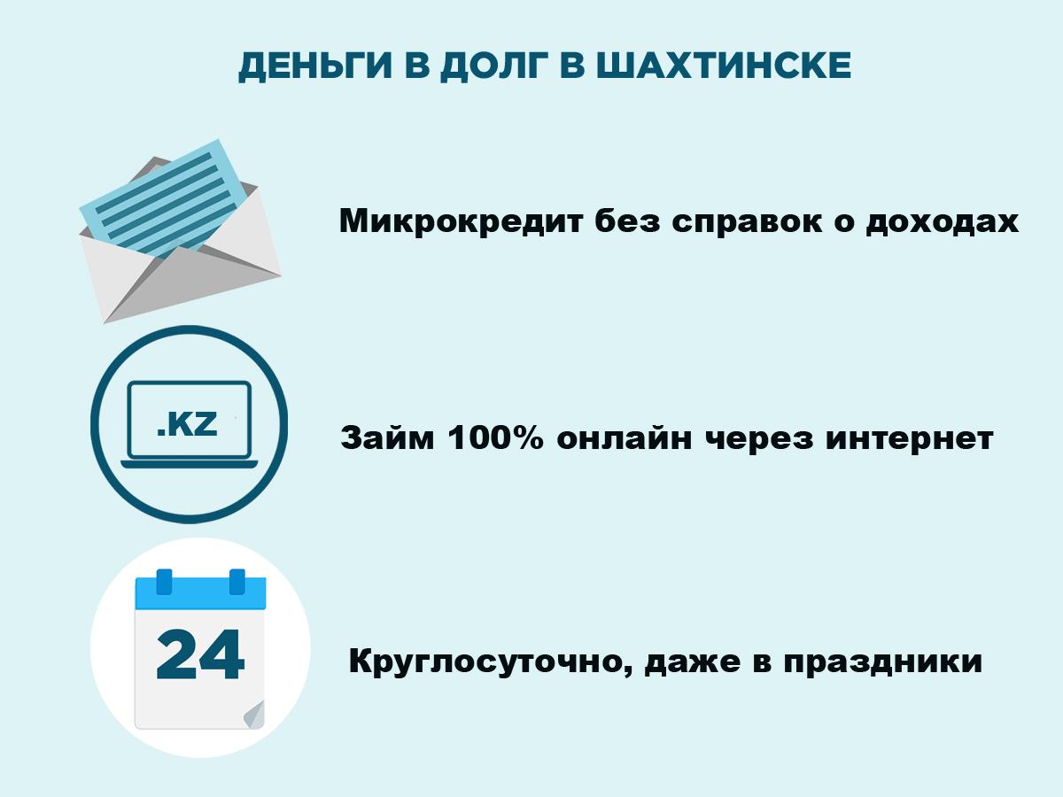 Деньги на карту в Шахтинске