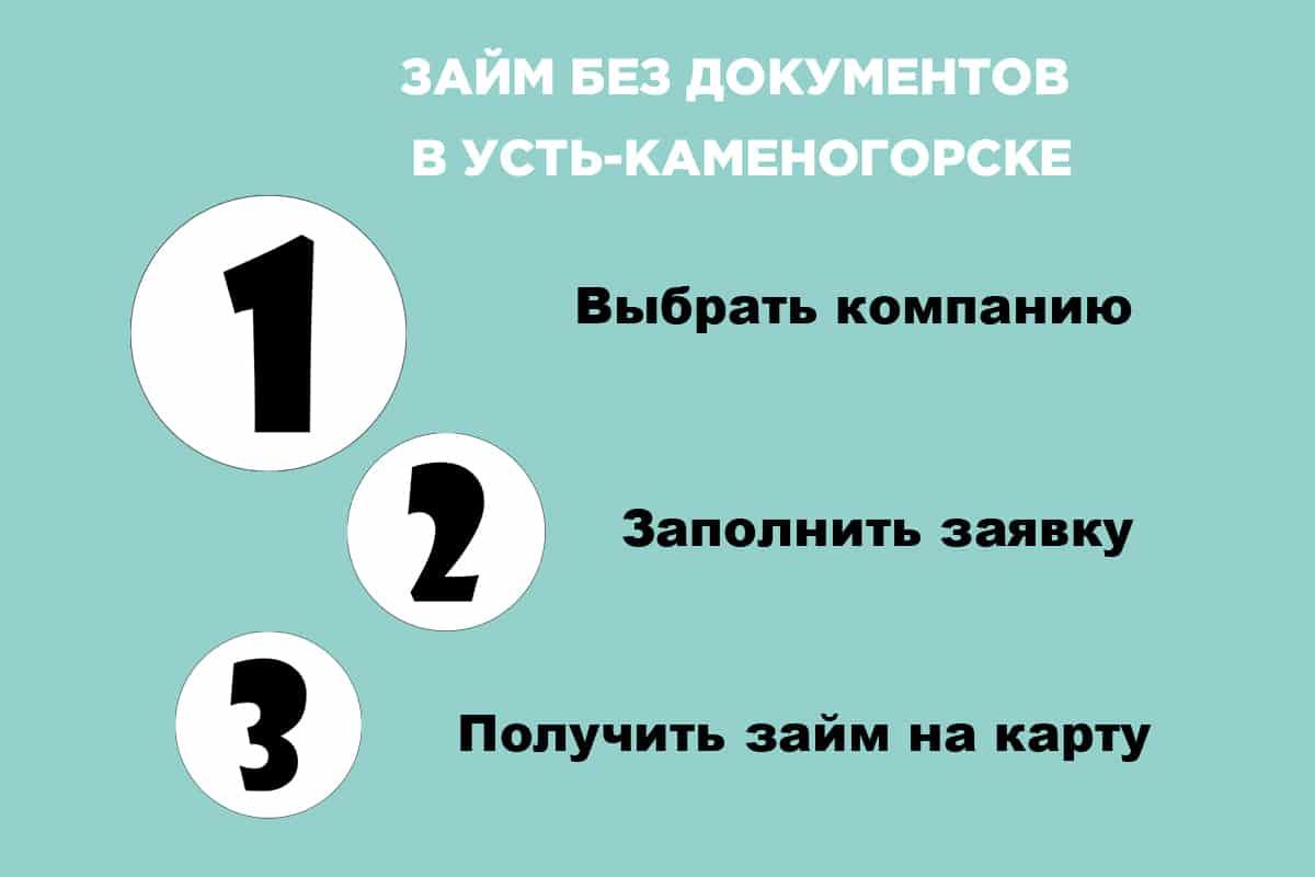 займ в Усть-Каменогорске